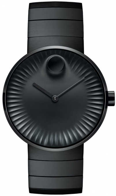 Movado Edge Men's Watch 3680007 Black USA - GOOFASH - Mens WATCHES