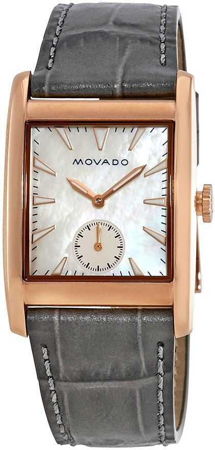 Movado Heritage Rose Gold Watch 3650051 White Mother Of Pearl USA - GOOFASH - Womens WATCHES