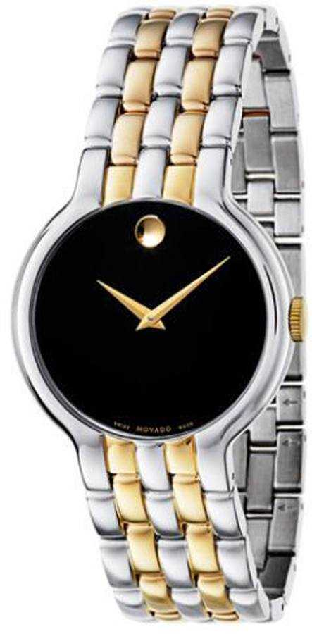 Movado Veturi Men's Watch 0606932 Black USA - GOOFASH - Mens WATCHES