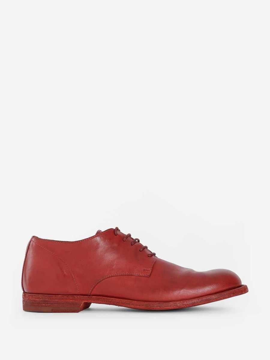Officine Creative Lace Ups Red USA - GOOFASH - Mens FORMAL SHOES