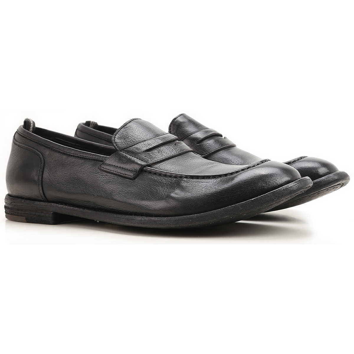Officine Creative Loafers for Men Black Canada - GOOFASH - Mens LOAFERS