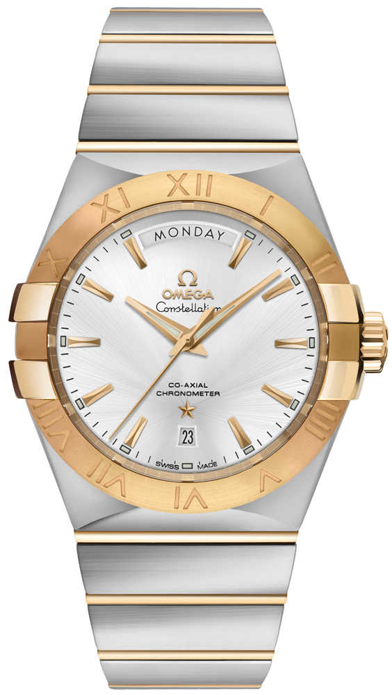 Omega Constellation Luxury Men's Watch 123.20.38.22.02.002 Silver USA - GOOFASH - Mens WATCHES