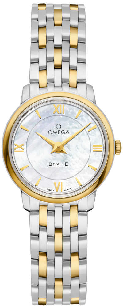 Omega De Ville Prestige Women's Watch 424.20.24.60.05.001 White Mother Of Pearl USA - GOOFASH - Womens WATCHES