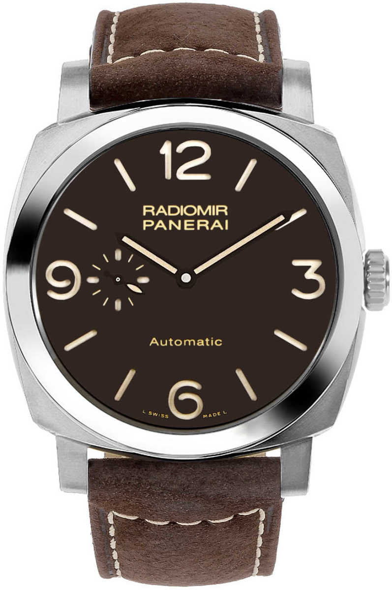 Panerai Radiomir Limited Edition 1940 3 Days Men's Watch PAM00619 Brown USA - GOOFASH - Mens WATCHES