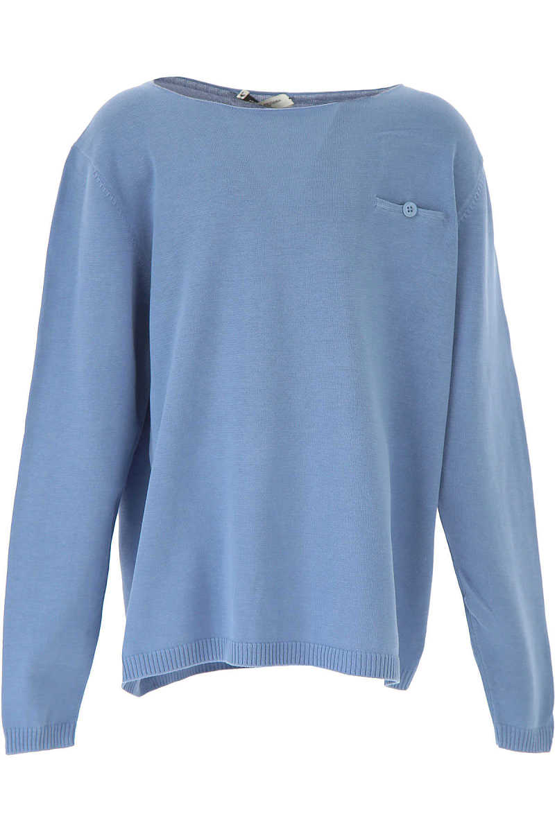 Paolo Pecora Kids Sweaters for Boys in Outlet Sky Blue Canada - GOOFASH - Mens SWEATERS