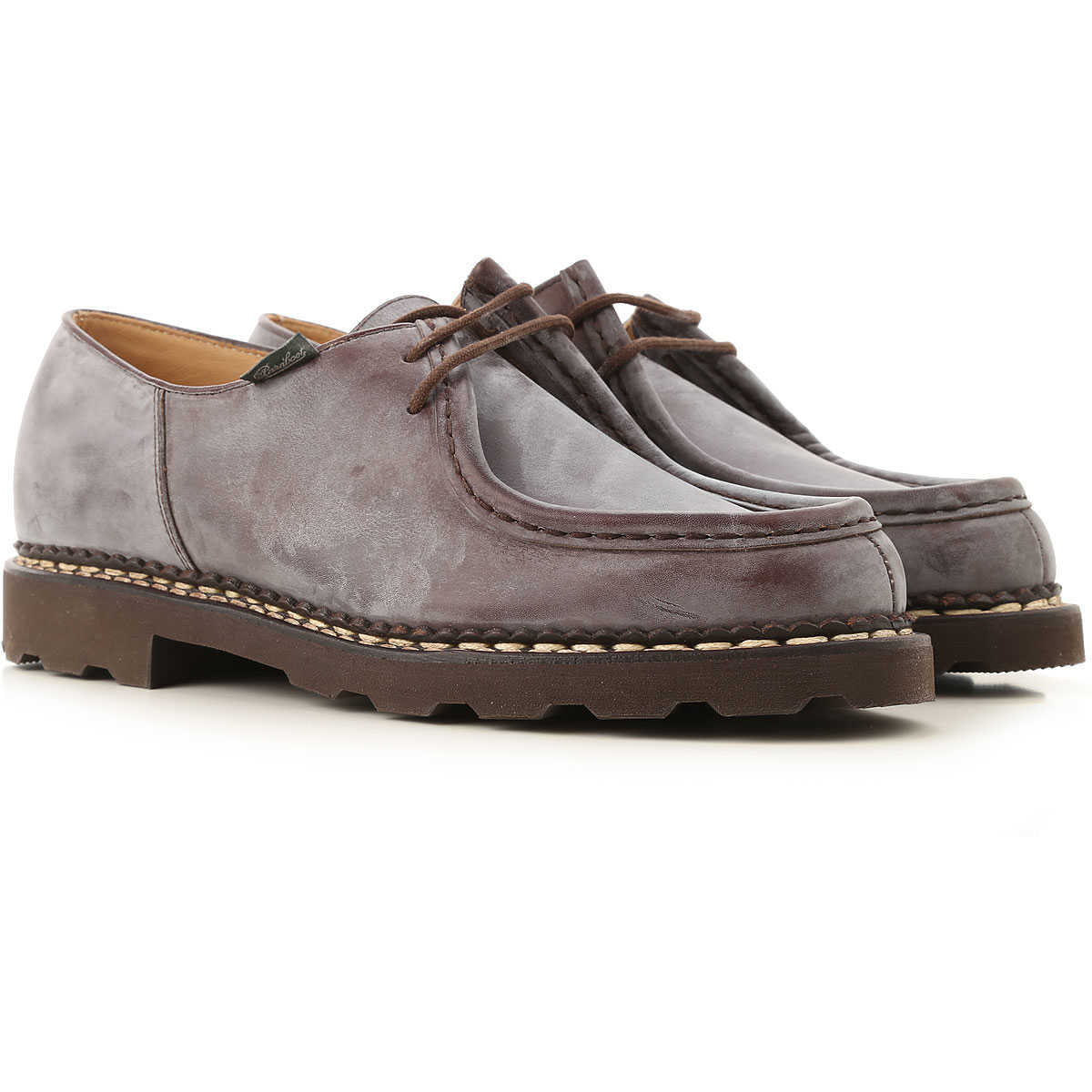 Paraboot Lace Up Shoes for Men Oxfords Derbies and Brogues Canada - GOOFASH - Mens BOOTS