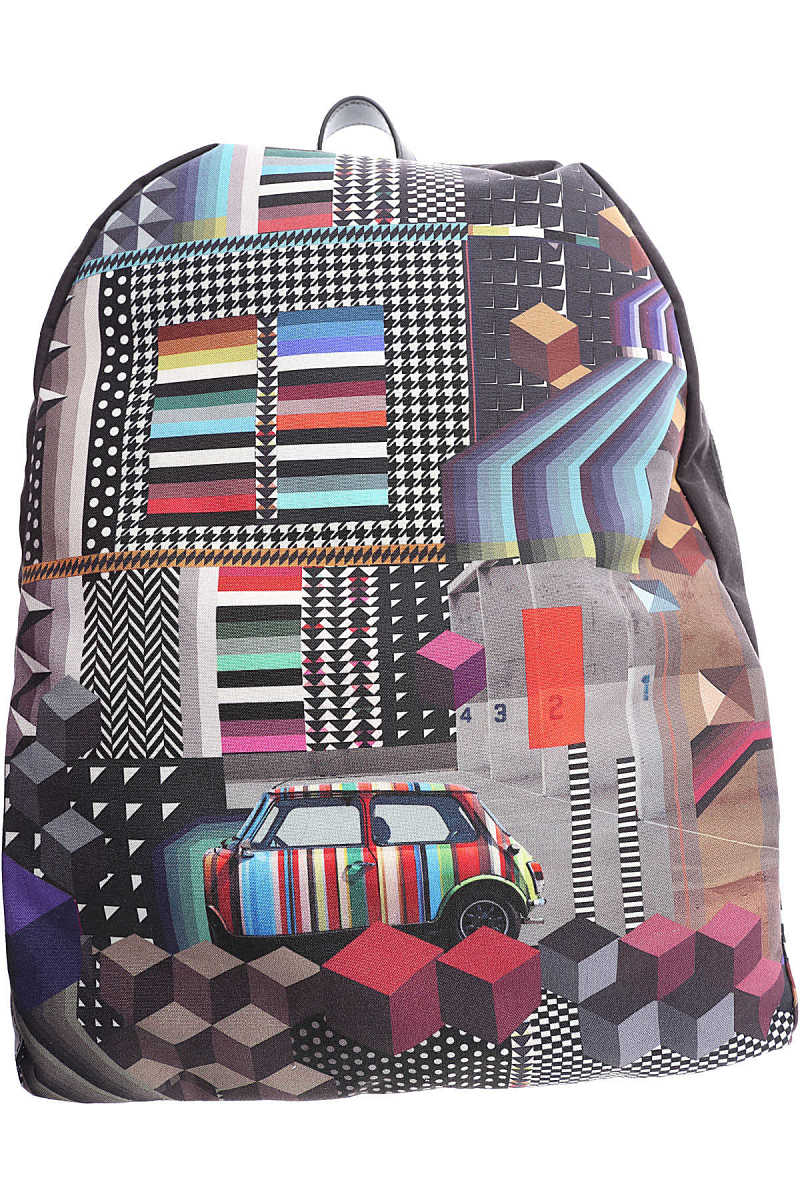 Paul Smith Backpack for Men Black Canada - GOOFASH - Mens BAGS