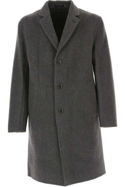 Paul Smith Men's Coat Grey Canada - GOOFASH - Mens COATS