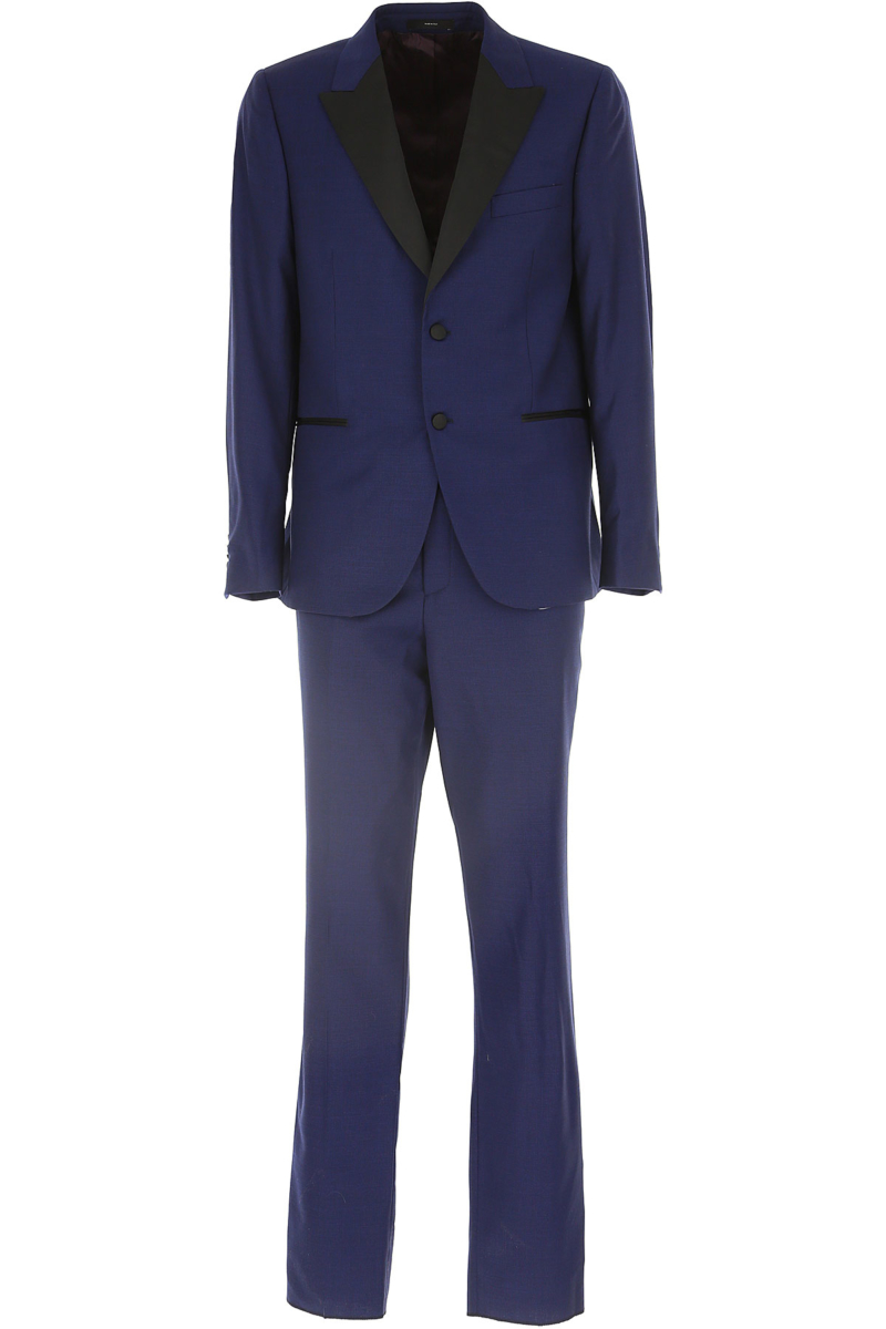 Paul Smith Men's Suit Bluette Melange Canada - GOOFASH - Mens SUITS