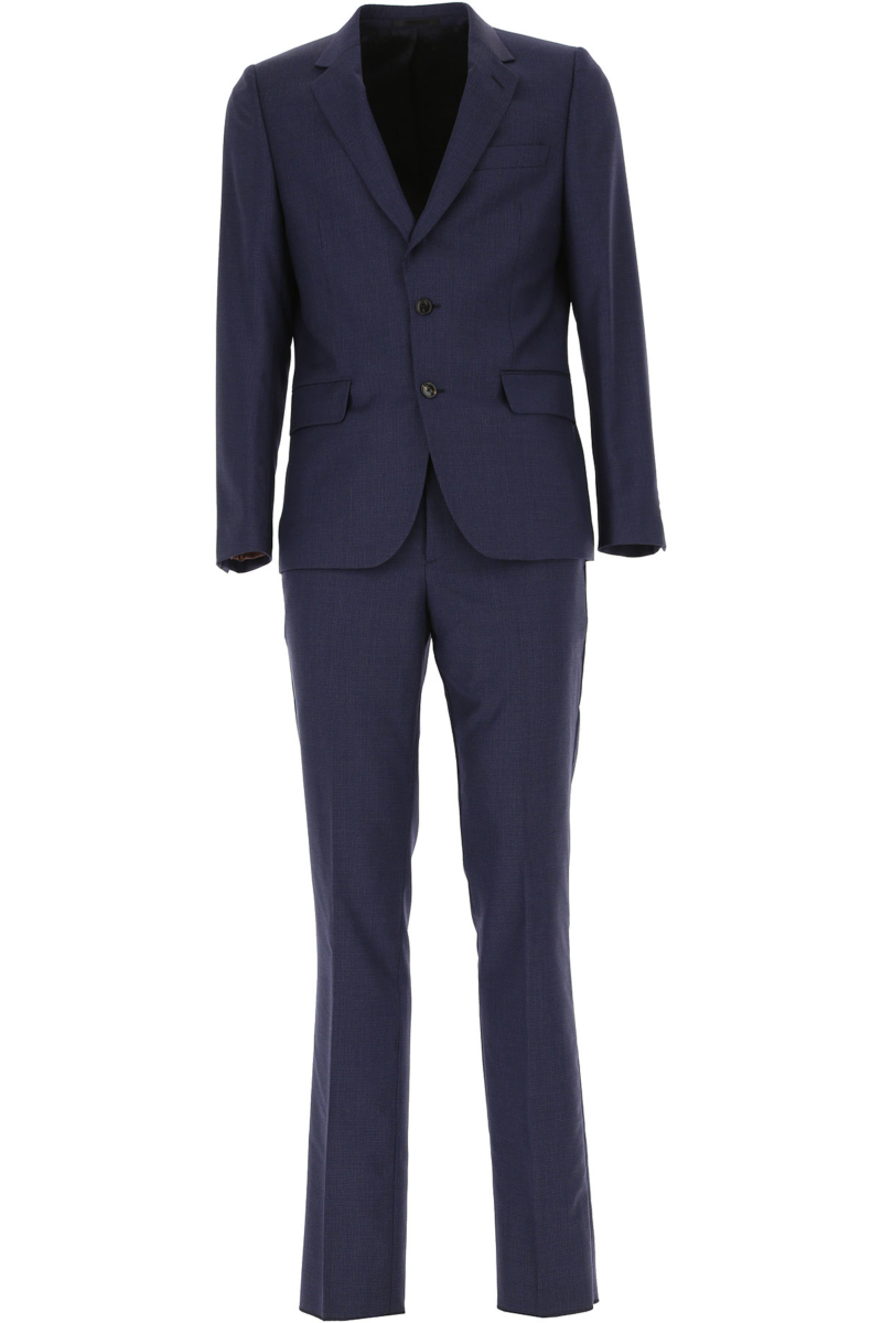 Paul Smith Men's Suit Midnight Blue Canada - GOOFASH - Mens SUITS