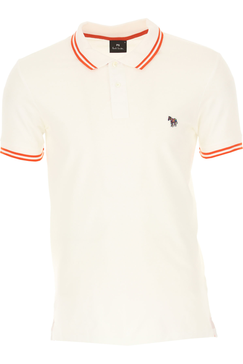 Paul Smith Polo Shirt for Men White Canada - GOOFASH - Mens POLOSHIRTS