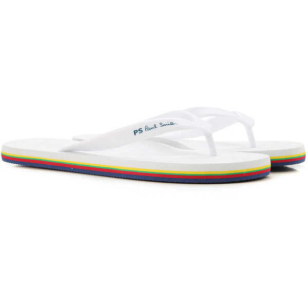 Paul Smith Sandals for Men Optical White Canada - GOOFASH - Mens SANDALS