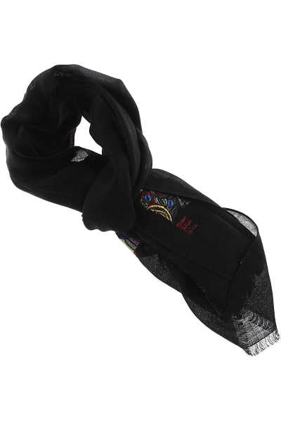 Paul Smith Scarf for Women Black Canada - GOOFASH - Womens SCARFS