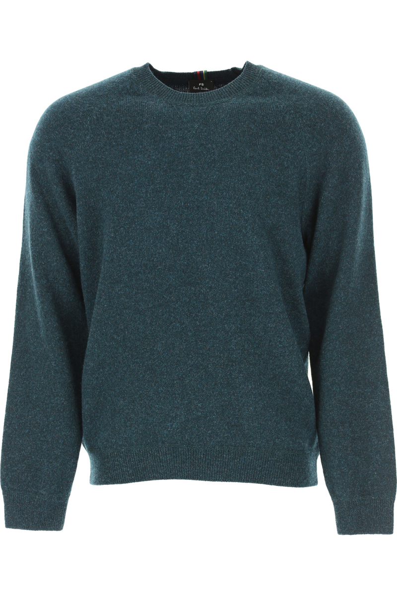 Paul Smith Sweater for Men Jumper Green Canada - GOOFASH - Mens SWEATERS
