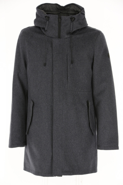 People of Shibuya Men's Coat Medium Grey Canada - GOOFASH - Mens COATS