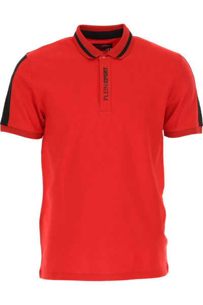 Philipp Plein Polo Shirt for Men Red Canada - GOOFASH - Mens POLOSHIRTS