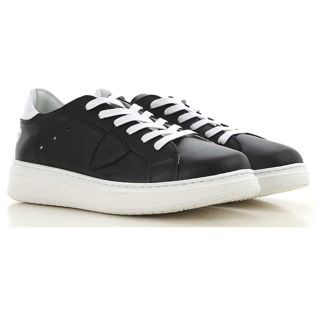 Philippe Model Kids Shoes for Boys Black Canada - GOOFASH -