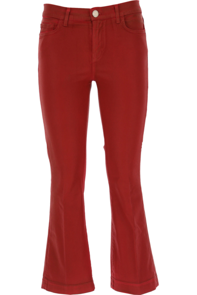 Pinko Pants for Women Bordeaux Red Canada - GOOFASH - Womens TROUSERS