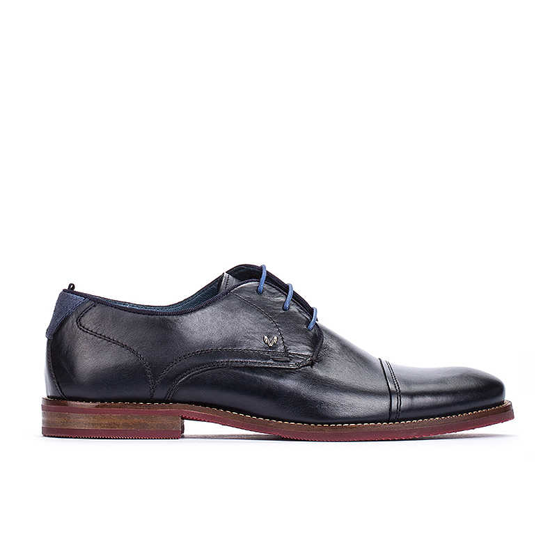 Prada Brogues Oxford Shoes On Sale in Outlet Black - Martinelli - GOOFASH - Mens LEATHER SHOES