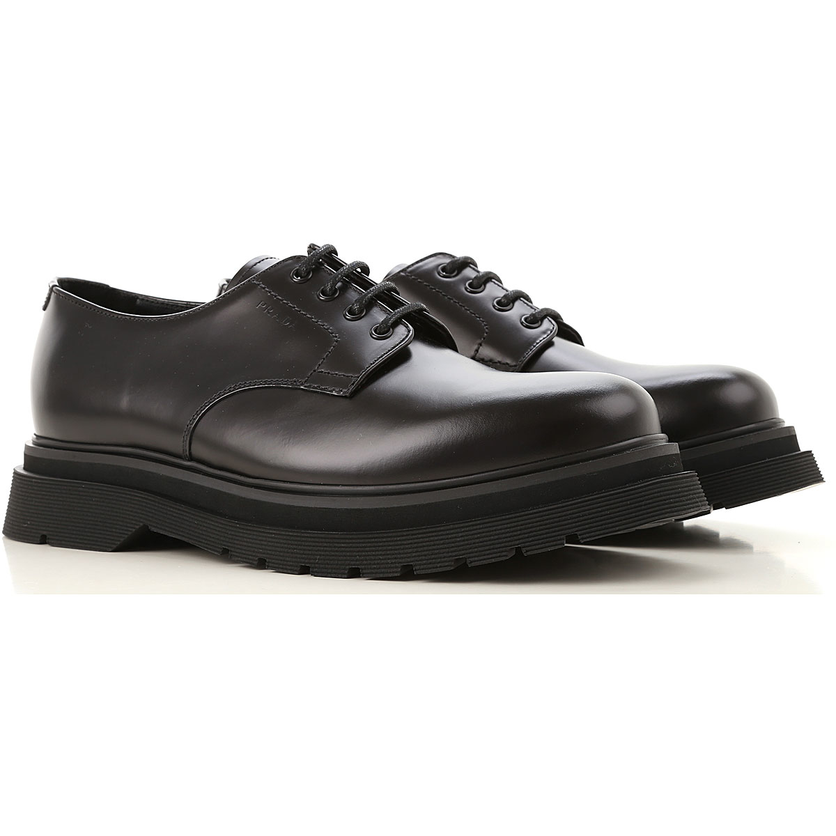 Prada Lace Up Shoes for Men Oxfords Derbies and Brogues Canada - GOOFASH - Mens FORMAL SHOES