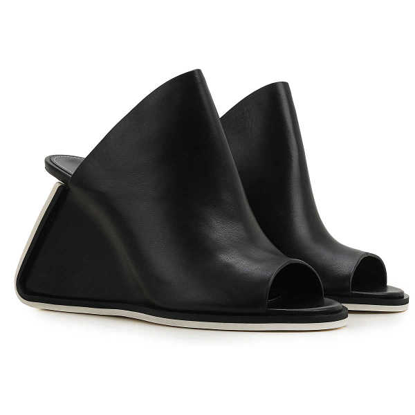 Premiata Wedges for Women in Outlet Black Canada - GOOFASH - Womens HOUSE SHOES