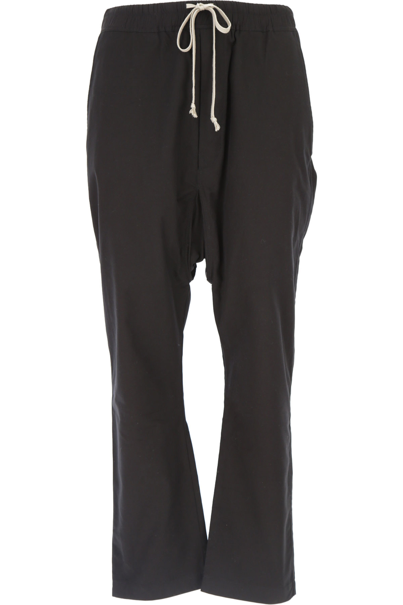 Rick Owens DRKSHDW Pants for Men in Outlet Black Canada - GOOFASH - Mens TROUSERS