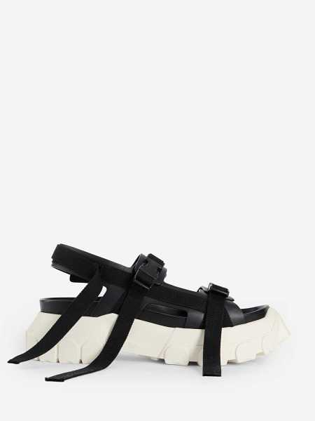 Rick Owens Sandals Black USA - GOOFASH - Mens SANDALS
