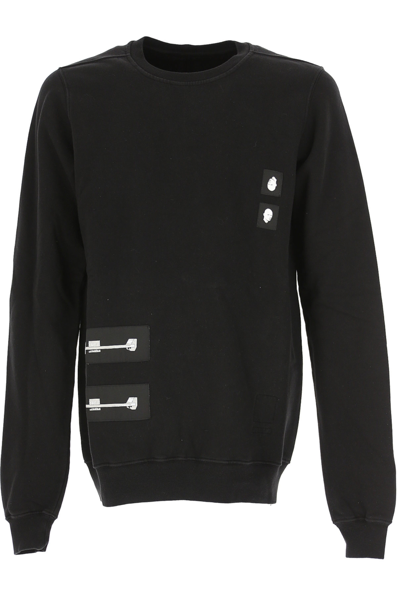 Rick Owens Sweatshirt for Men in Outlet Black Canada - GOOFASH - Mens SWEATERS