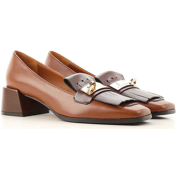 Roberto Festa Loafers for Women Chocolate Brown Canada - GOOFASH - Womens FLAT SHOES