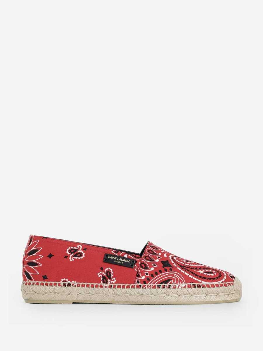 Saint Laurent  Loafers Red USA - GOOFASH - Mens LOAFERS