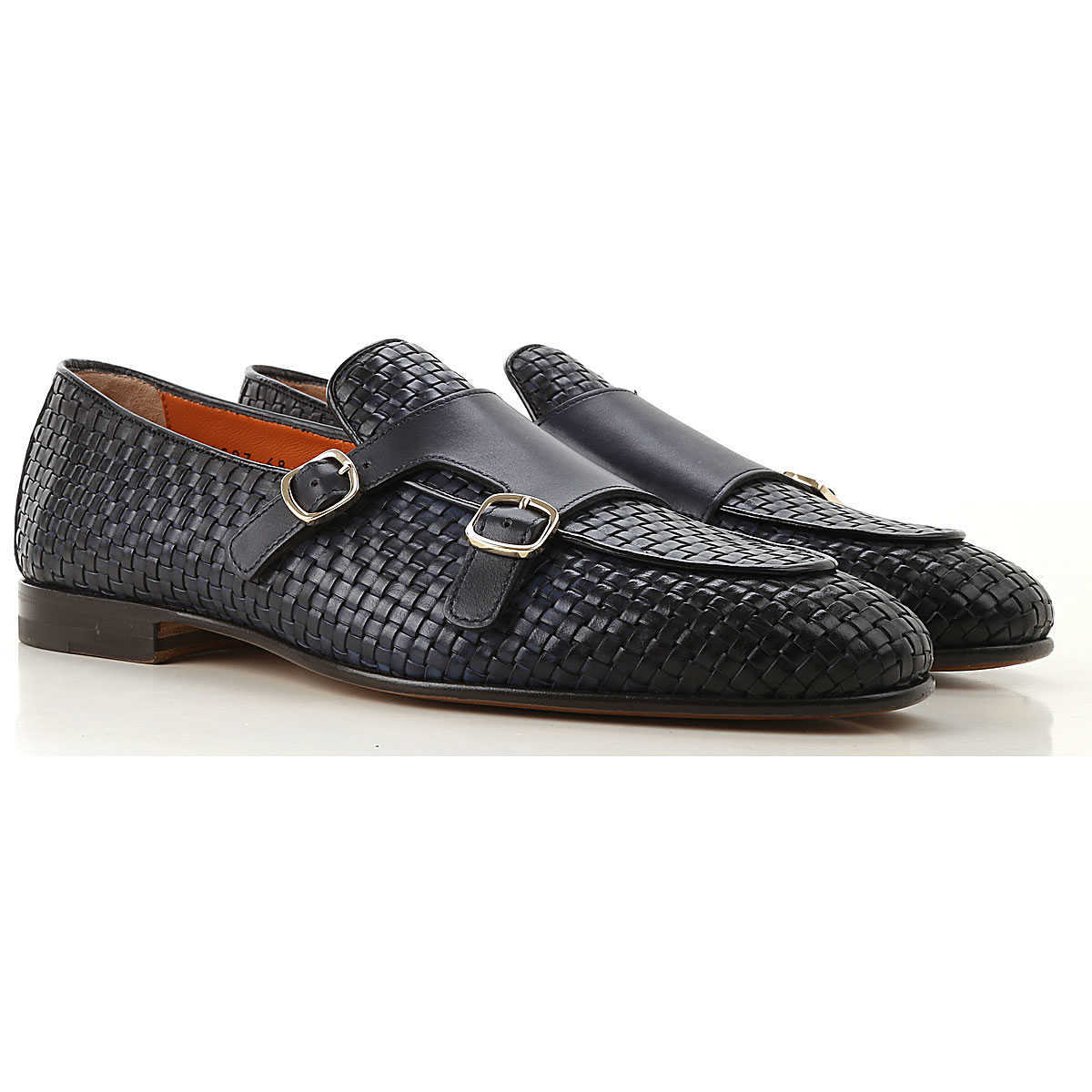 Santoni Loafers for Men Midnight Canada - GOOFASH - Mens LOAFERS