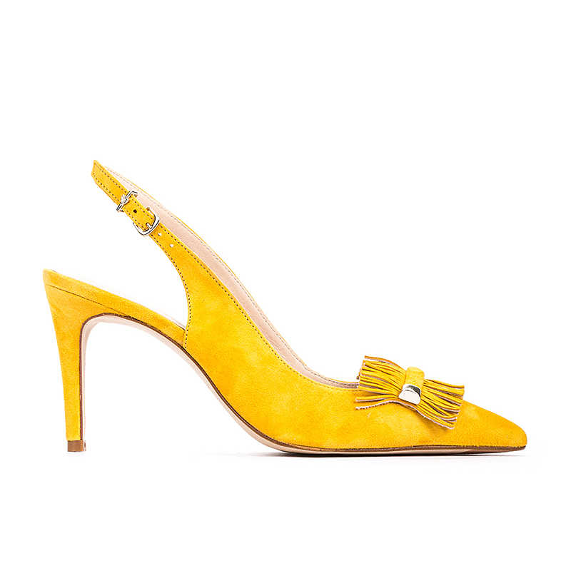 Santoni Sandals for Women On Sale in Outlet Mustard - Martinelli - GOOFASH - Womens SANDALS