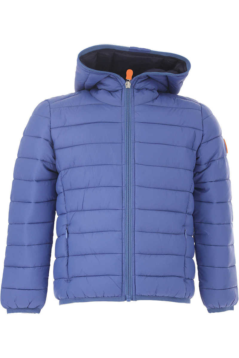 Save the Duck Boys Down Jacket for Kids Puffer Ski Jacket Canada - GOOFASH - Mens JACKETS
