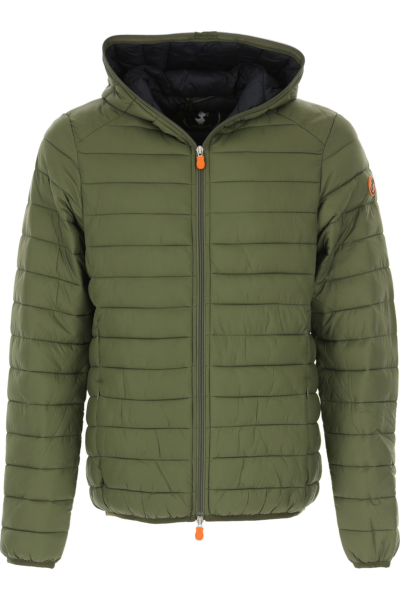 Save the Duck Jacket for Men Military Green Canada - GOOFASH - Mens JACKETS