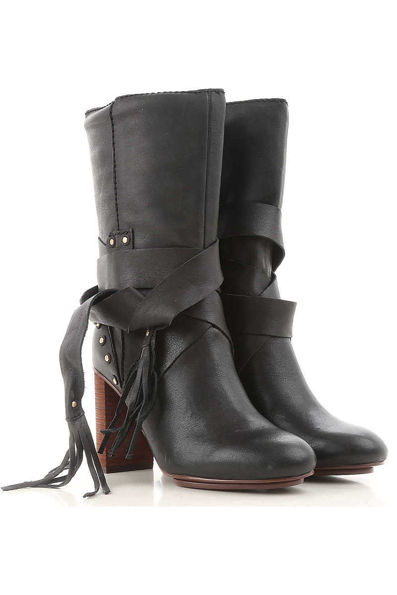 See By Chloe Boots for Women Booties On Sale in Outlet Canada - GOOFASH - Womens BOOTS