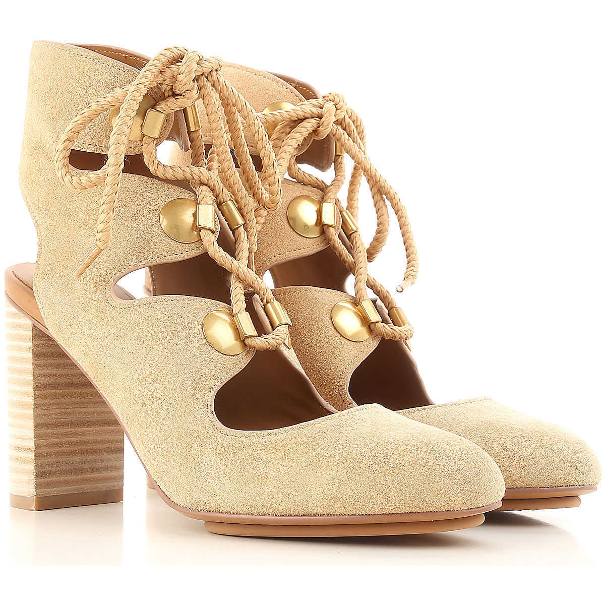 See By Chloe Pumps & High Heels for Women in Outlet Beige Canada - GOOFASH - Womens PUMPS