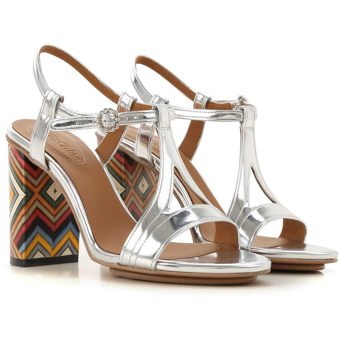 See By Chloe Sandals for Women Silver Canada - GOOFASH - Womens SANDALS