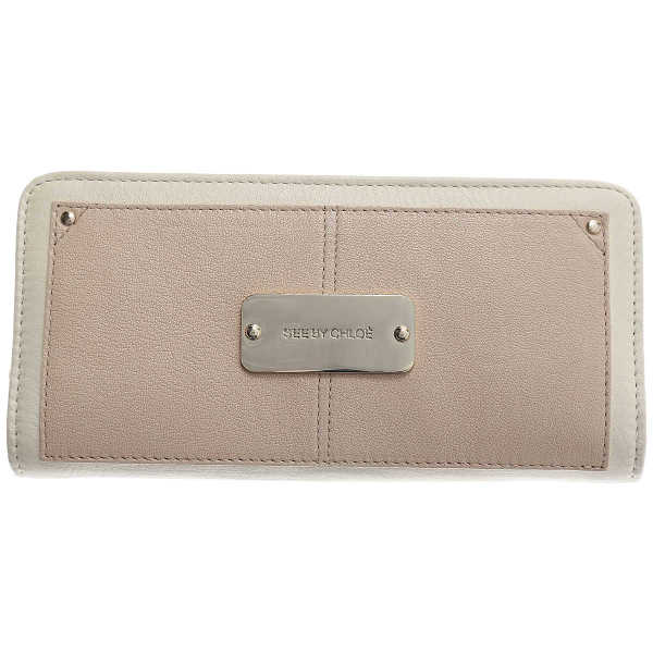See By Chloe Wallet for Women Cream Canada - GOOFASH - Womens WALLETS