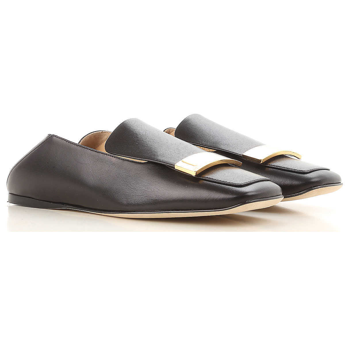 Sergio Rossi Loafers for Women Black Canada - GOOFASH - Womens FLAT SHOES