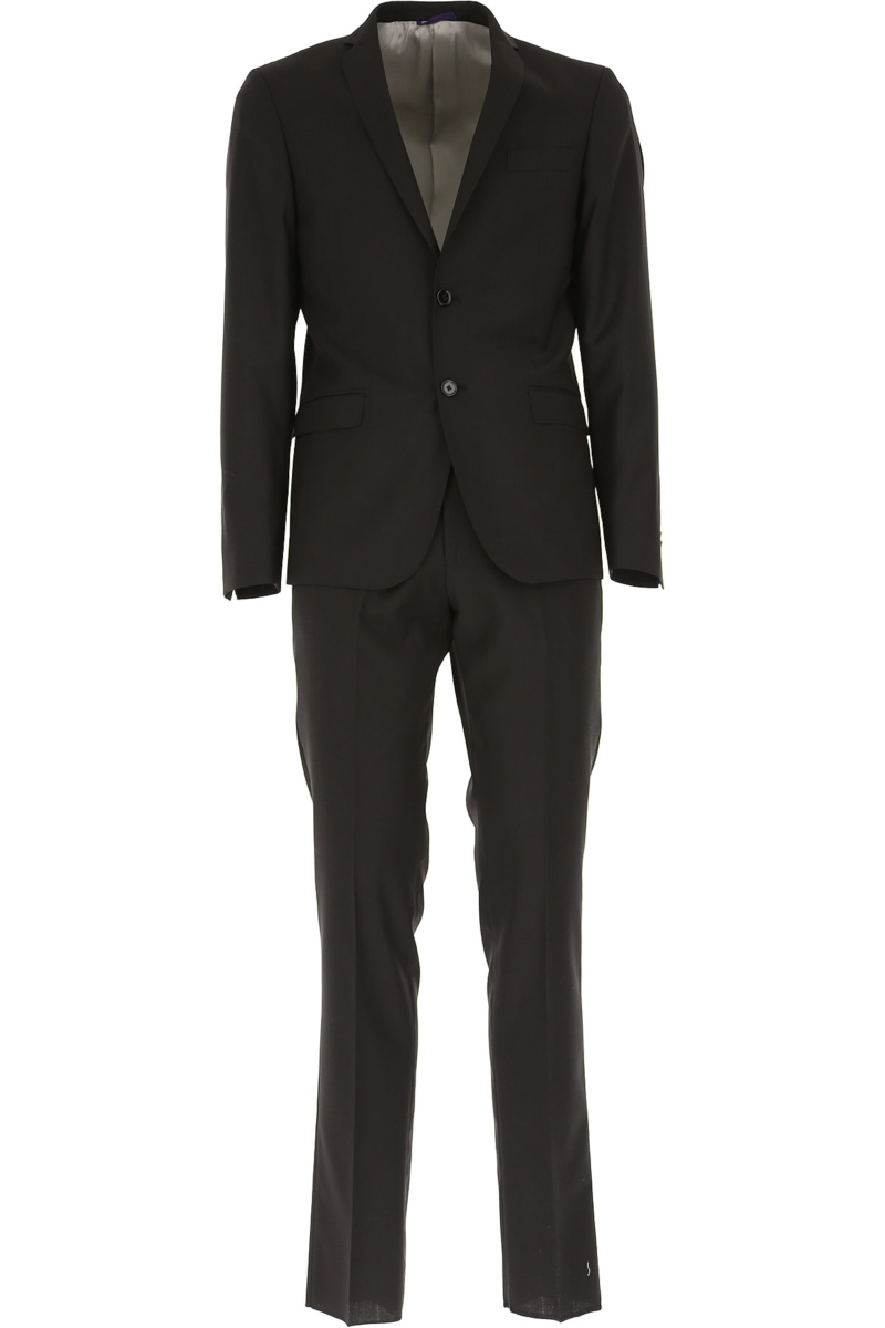 Simbols Men's Suit Black Canada - GOOFASH - Mens SUITS