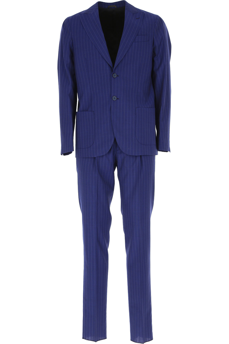 Simbols Men's Suit Blue Canada - GOOFASH - Mens SUITS