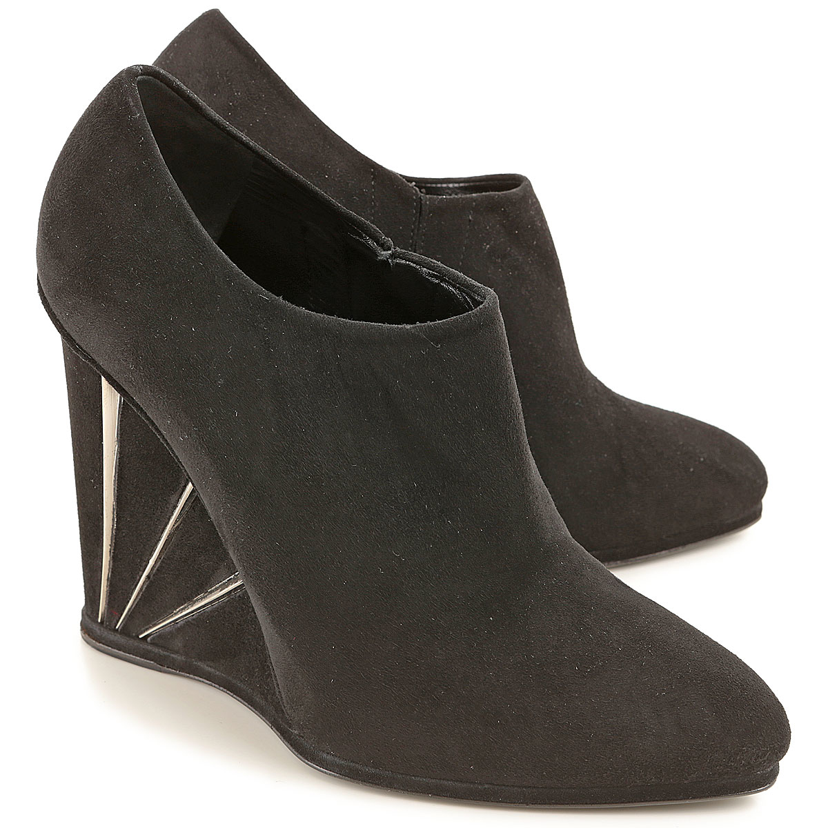 Stuart Weitzman Wedges for Women in Outlet Black Canada - GOOFASH - Womens HOUSE SHOES