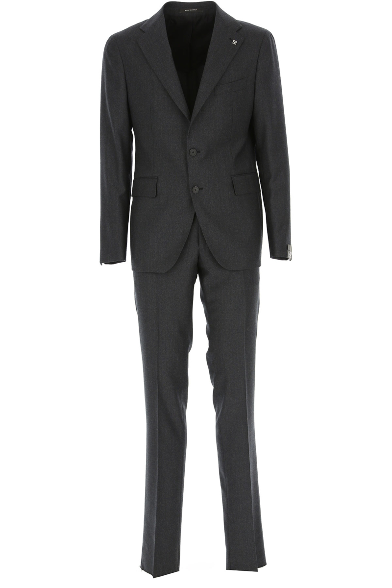 Tagliatore Men's Suit Anthracite Grey Canada - GOOFASH - Mens SUITS