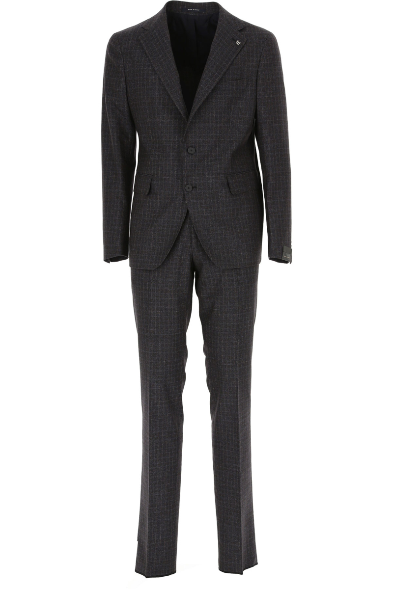 Tagliatore Men's Suit Blue Canada - GOOFASH - Mens SUITS