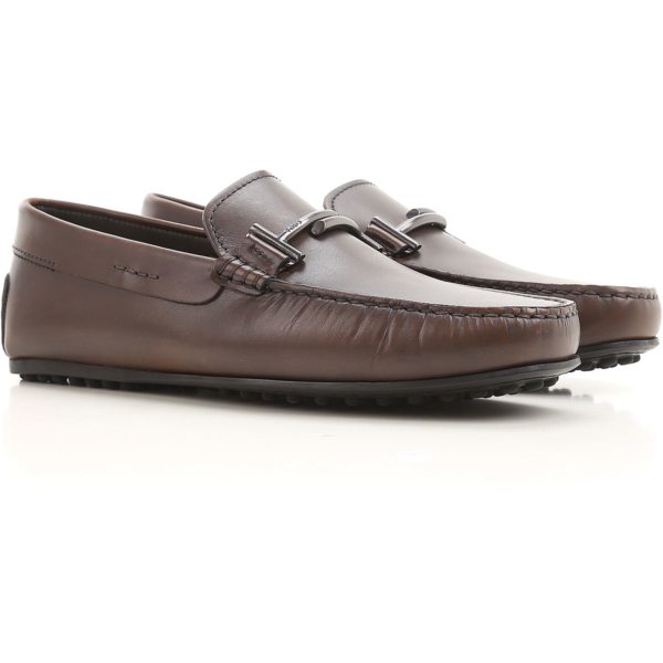 Tods Loafers for Men Bark brown Canada - GOOFASH - Mens LOAFERS