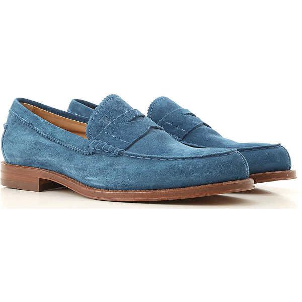 Tods Loafers for Men Cobalt Turquoise Canada - GOOFASH - Mens LOAFERS