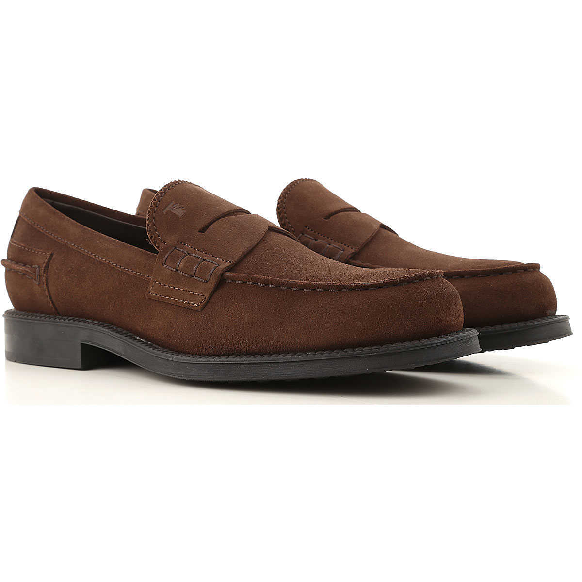 Tods Loafers for Men Coffee Canada - GOOFASH - Mens LOAFERS