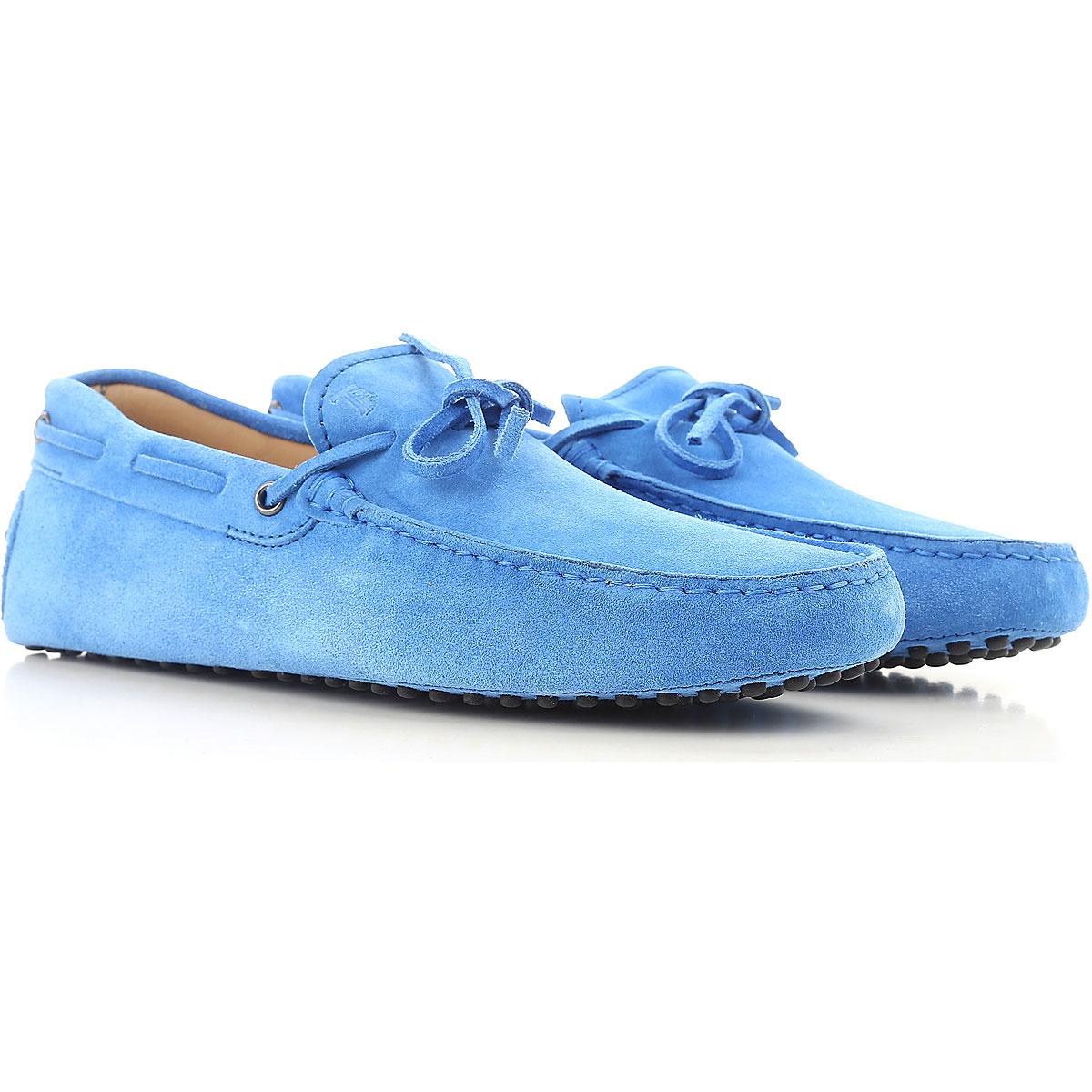 Tods Loafers for Men Light Blue Canada - GOOFASH - Mens LOAFERS