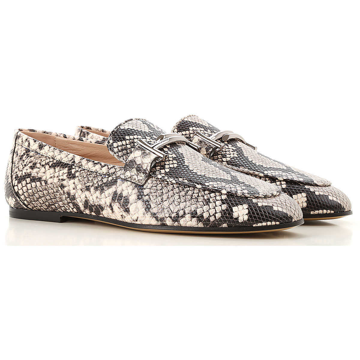Tods Loafers for Women Stone Grey Canada - GOOFASH - Womens FLAT SHOES