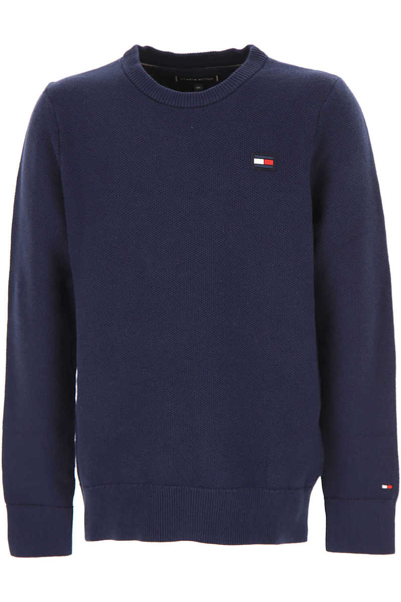 Tommy Hilfiger Kids Sweaters for Boys navy Canada - GOOFASH - Mens SWEATERS
